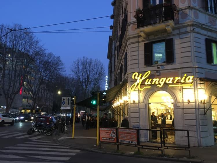 Hungaria Roma esterno