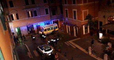 Lazio-Siviglia rissa rione Monti