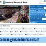 È online il nuovo portale istituzionale del Comune di Genzano di Roma