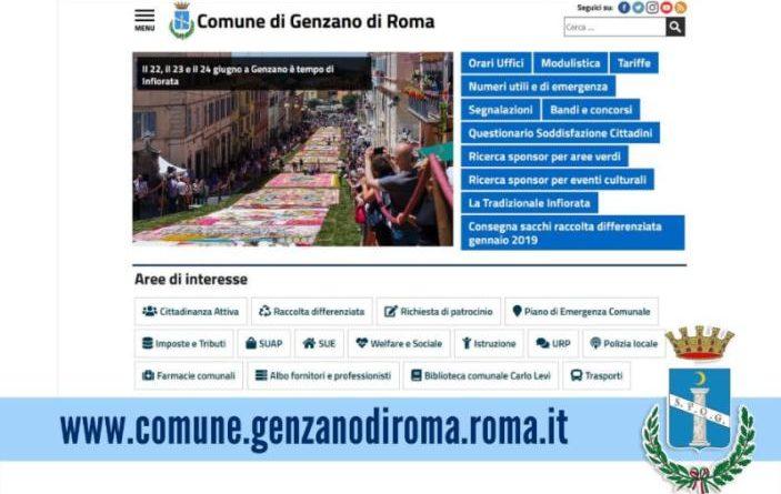 Comune di Genzano di Roma portale
