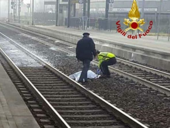 Cerveteri incidente in stazione