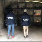 Nascondeva droga e armi nel cimitero Verano: marmista finisce a Regina Coeli