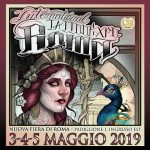 XX International Tattoo Expo Roma dal 3 al 5 maggio