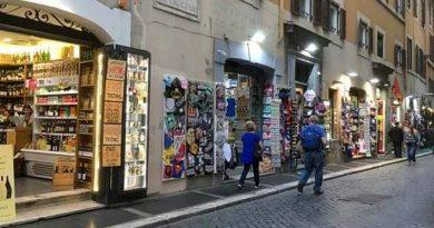 commercio centro Roma