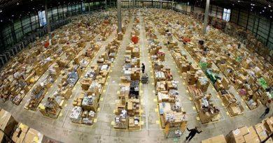Amazon centro di smistamento