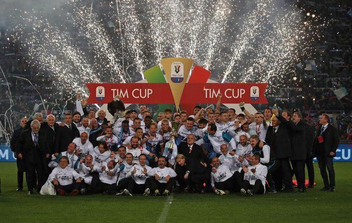 Coppa Italia alla Lazio