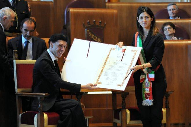 Roma Bosso cittadinanza onoraria