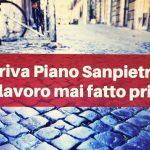 Piano Sanpietrini per le strade di Roma