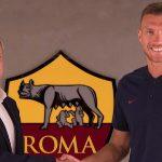 Edin Dzeko ha rinnovato il suo contratto con la Roma fino al 2022