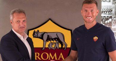 Dzeko Roma