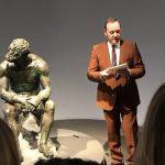 L'attore Kevin Spacey è tornato in scena a Roma nella cornice di Palazzo Massimo