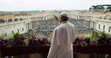 Natale a Roma benedizione Papa
