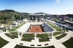 centrale tennis Foro Italico Roma