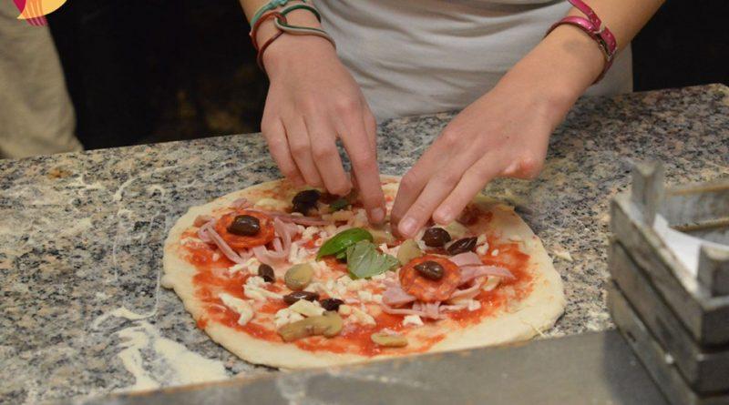 insideat pizza preparazione