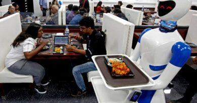 robot serve i pasti
