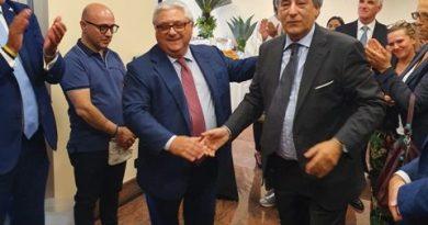 Il Presidente Rosario Caputo e il Direttore Generale Michele Izzo inaugurano la nuova sede GAFI di Roma