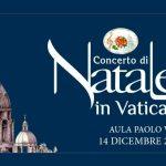 Concerto di Natale in Vaticano in onda su Canale 5