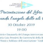 Presso il Circolo Canottieri Lazio presentazione di Grunda, l'angelo dalle ali rotte