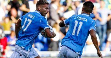 Immobile e Correa Lazio