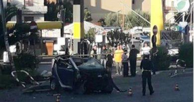 Roma incidente via Casilina 13 ottobre 2019