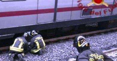 Suicidio stazione Garbatella Roma