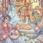 Alla libreria letteraria Horafelix presentazione del graphic novel Percy's song di Martina Rossi