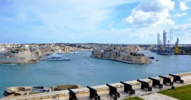 Saluting battery La Valletta