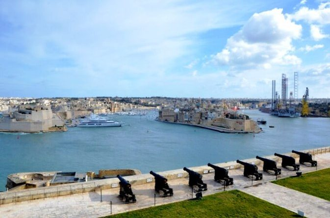 Saluting battery La Valletta