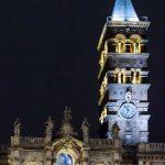 Impianto di illuminazione artistica della Basilica di Santa Maria Maggiore rinnovato