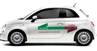 vetture car sharing comunale