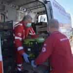 Civitavecchia. Coldiretti Roma: gli agricoltori donano 45 quintali di ortofrutta consegnati dalla CRI alle famiglie