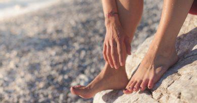 prendersi cura dei piedi