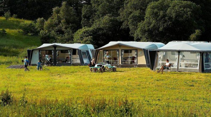 turismo in campeggio