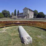 Arte contemporanea: un grande anello di bronzo nel cuore del Palatino