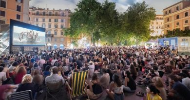 cinema all'aperto a Roma