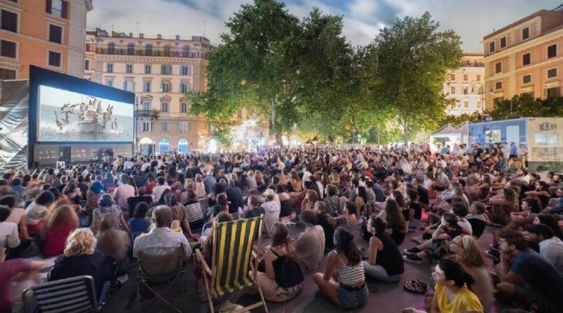 cinema all'aperto a Roma