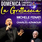 Week end di grandi spettacoli a Ladispoli all'Arena Summer night 2 presso la Grottaccia