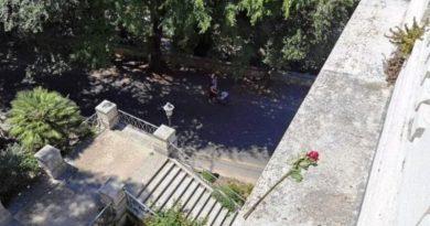 suicidio terrazzo del Pincio