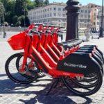 Nuovamente in strada le 2 mila biciclette elettriche rosse di Jump