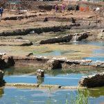 Antica vasca monumentale scoperta in zona Malafede