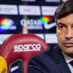 Roma-Sassuolo 0-0: Paulo Fonseca espulso nell'intervallo