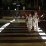 Al via lavori per quattro nuovi attraversamenti pedonali a led