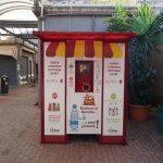 Macchine mangiaplastica nei mercati rionali: la prima a Magliana