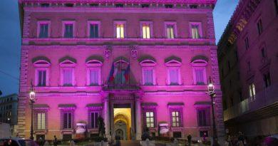 Roma palazzo rosa