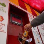 In funzione macchinette mangiaplastica nei mercati Ostia Lido e Italia