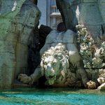 Al via i lavori di ripristino del leone della fontana dei Quattro Fiumi