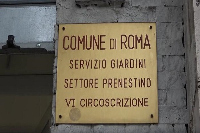Servizio Giardini Comune di Roma