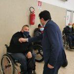 Iniziate le vaccinazione presso il Centro Paraplegici di Ostia