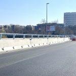 I lavori sul Ponte della Magliana eseguiti in un periodo con minori flussi di traffico
