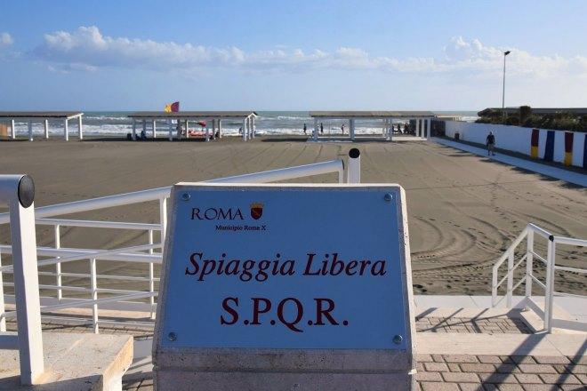 spiaggia libera spqr - ph ufficio stampa comune di roma